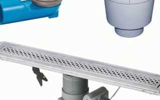 Как установить трап для душа своими руками: элементы сливного оборудования и производство работ