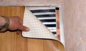 Можно ли стелить линолеум на теплый пол и как подготовить основание для укладки