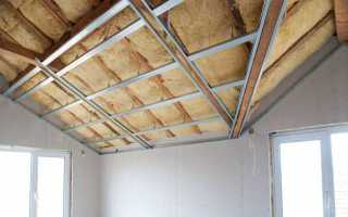 Утепление потолка в квартире и частном доме изнутри: как перестать мерзнуть и начать жить