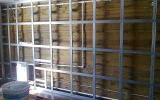 Как сделать стену из гипсокартона своими руками, и чем ее отделать