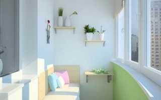 Как сделать полки на балконе своими руками: функциональная конструкция легко и просто