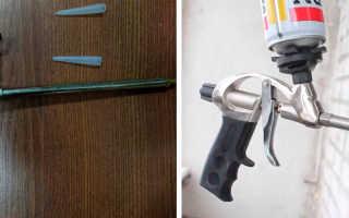 Пистолет для монтажной пены какой лучше выбрать для дома: основные критерии