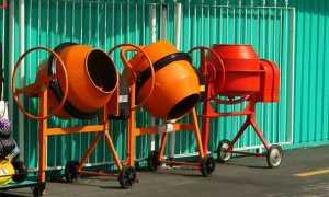 Как выбрать бетономешалку для дома и дачи: основные правила подбора и использования