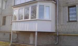 Можно или нет пристроить балкон на первом этаже