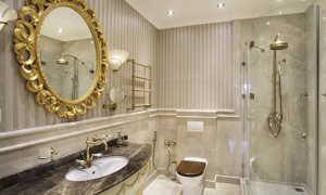Дизайн ванной комнаты в классическом стиле: особенности оформления современных интерьеров