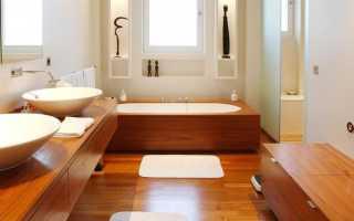 Можно ли делать теплые водяные полы в ванной на втором этаже в новом деревянном брусовом доме?