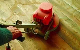 Шлифовка деревянного пола своими руками: особенности и нюансы